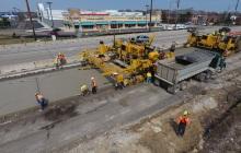 Concrete Finishing Operation