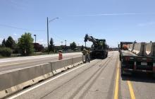 Temporary Concrete Barrier