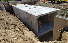 Pedestrian Underpass Tunnel Installation