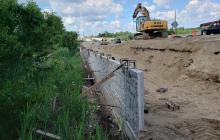 Retaining Wall Work