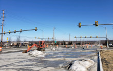 Traffic Signal Installation - Commercial-Dr