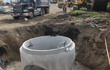 Storm Sewer at Randall/Algonquin