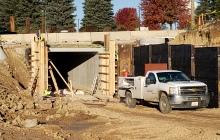 Pedestrian Underpass Wall Work