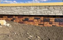 Retaining Wall Staining
