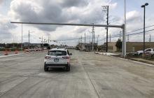 New Traffic Signal Mast